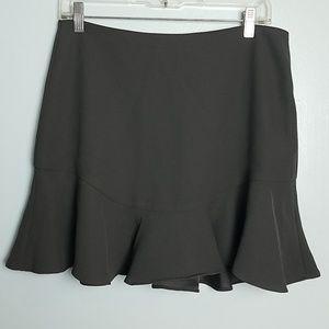 Banana Republic Flounce Bottom Mini Skirt NWT